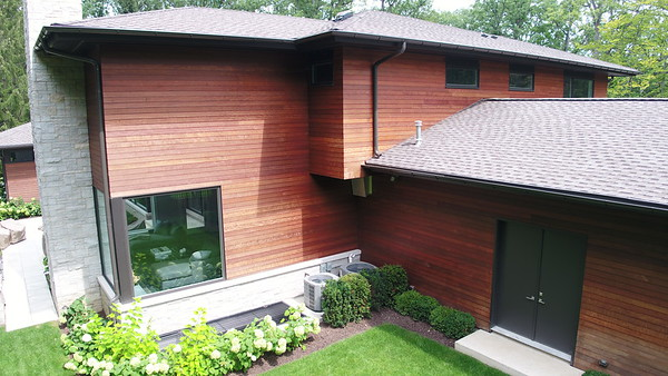 Massaranduba Wood Siding Installation - Highland Park, IL