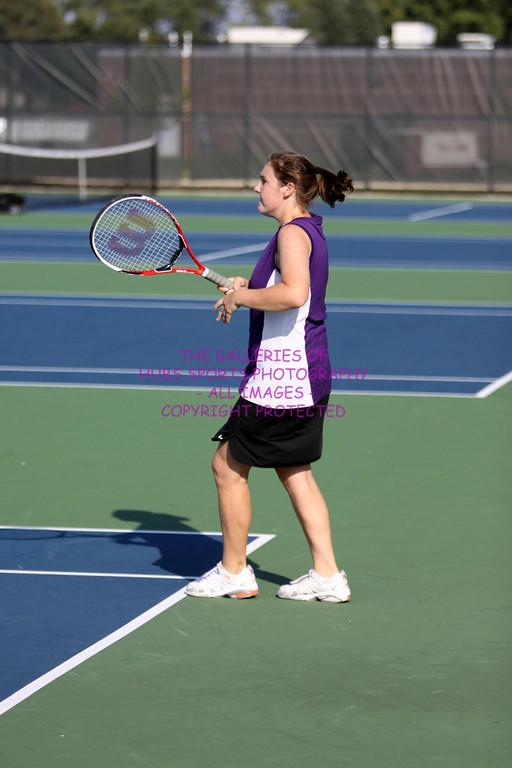 2009 RTHS LADY HUBS VARSITY TENNIS vs KANELAND