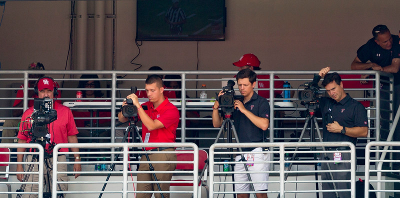 Press photographers.  (That's where I want to be !!! )