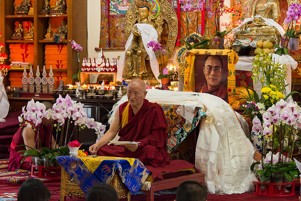 Jampa-la Rinpoche's talk