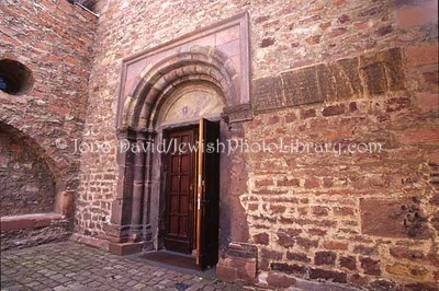 GERMANY, Worms. Levy'sche Synagogue (aka, Rashi's Chapel) (and surroundings). (2006)