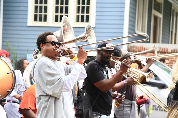Corey Henry with Krewe of Red Beans Lundi Gras  2020