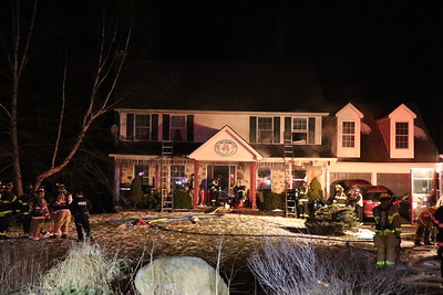 2nd Alarm House Fire With Entrapment - East Mount Airy Road