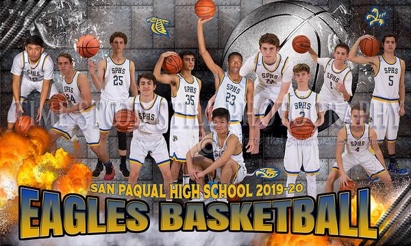San Pasqual Boys Basketball 2019-20