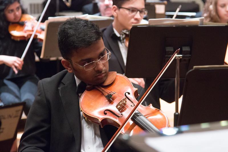 Nikhil Menon -- Hopkins Symphony Orchestra, April 2017