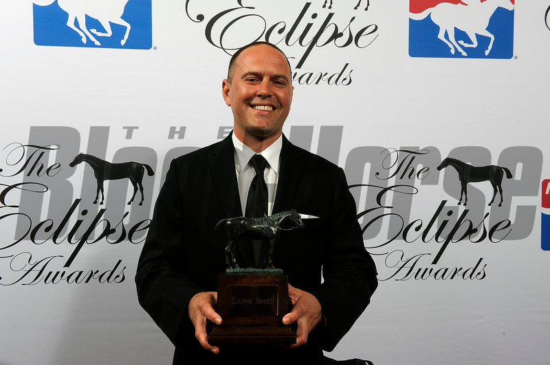 Chad Brown Trainer of the Year at 2018 Eclipse Awards, Gulfstream Park, FL 1.25.2018