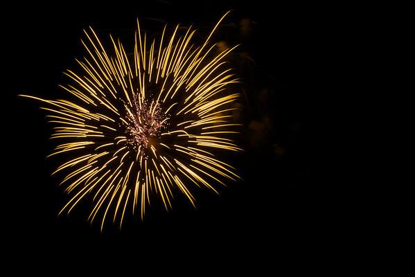 Lilburn Fireworks July 4, 2012