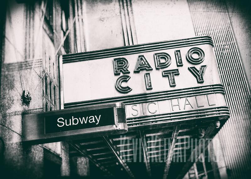 Radio City Music Hall - Subway
