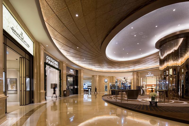 The DFS Galleria shopping mall is seen at the Venetian Macau.