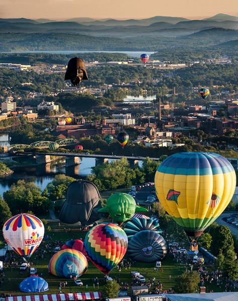 2016 Balloon Festival Collage