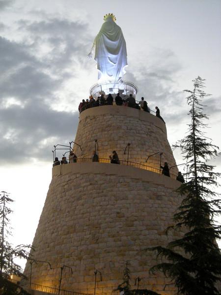 Notre Dame overlooking Beirut - Harissa