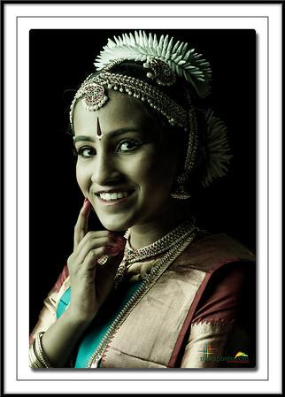 Anitha's Pre-Arangertam Portraits