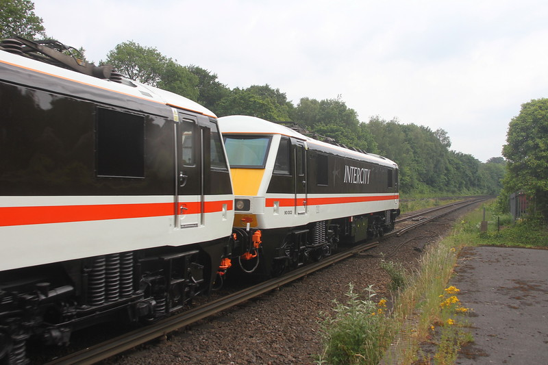 90002 Micheldever 11/06/20 0Z37 Eastleigh to Crewe Holding Sidings