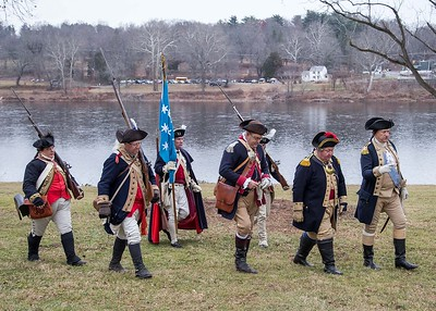 Washington's Crossing rehersal  12-11-16