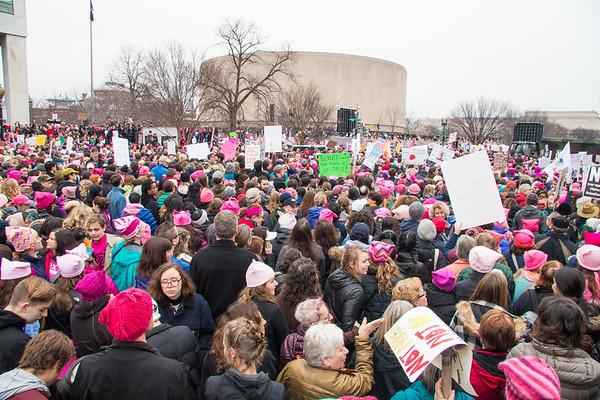 Women's March on Washington, Jan. 21, 2017