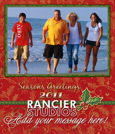 2011 Christmas Card Templates