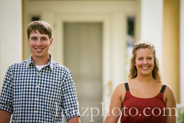 Ashley & Zach Color Engagement Photos
