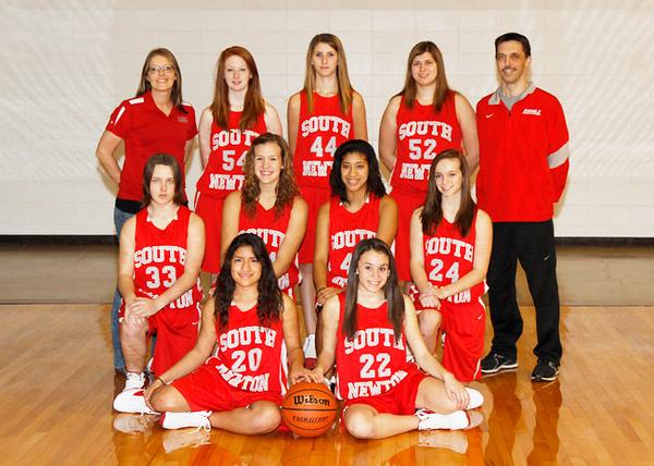 SNHS Girls Basketball 2011-2012