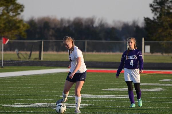 Varsity Girls Soccer vs NE City