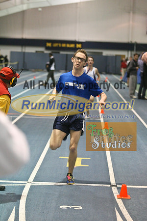 Boys' DMR - January 29 MITS Meet at UM