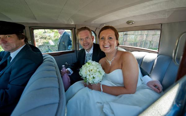 Linda & Joacims bryllupsdag 12.05.12 - portrettene