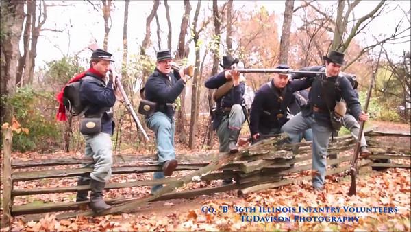 Prairie Grove Civil War Event, AR 2016