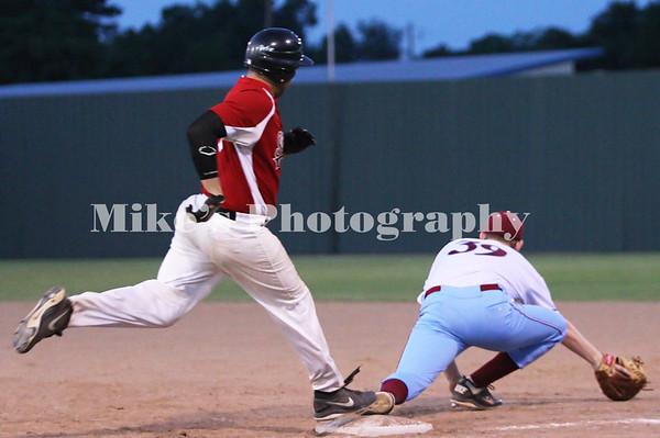 Jacksonville vs Simmons Baseball 2013