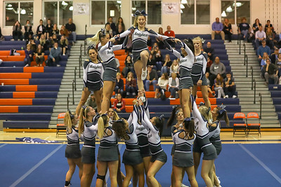 Cheer: John Champe @ Districts 10.17.2018 (By Jeff Scudder)