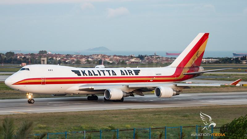 Kalitta Air Boeing B747-400 N402KZ