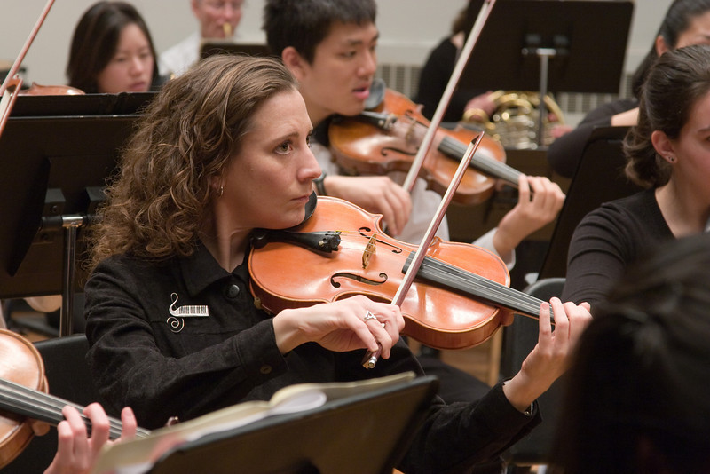 Amy Brusini, violin -- Hopkins Symphony Orchestra, March 2008