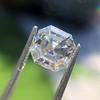 3.30ct Vintage Asscher Cit Diamond GIA J VS1 41