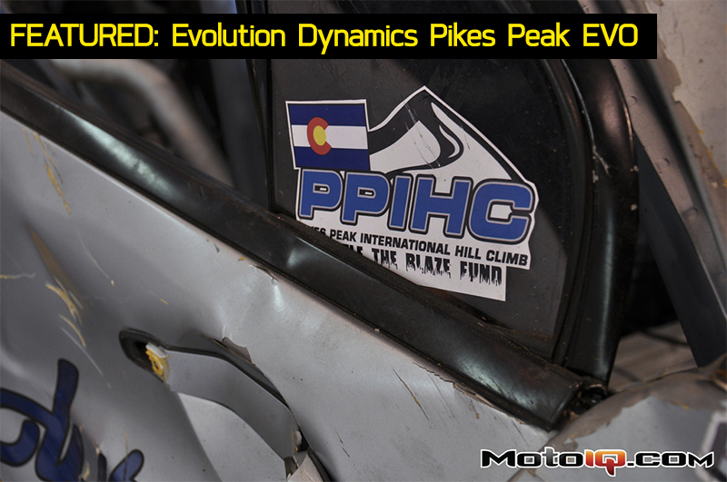 Pikes Peak International Hill Climb Evo Crash PPIHC Jeremy Foley Evolution Dynamics