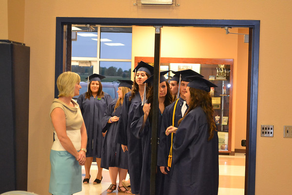 Minco High School Graduation
