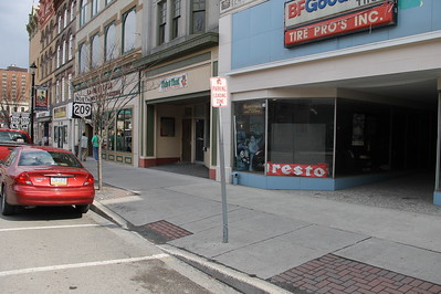 Loading Zone to Go Away, West Broad Street, Tamaqua (4-26-2014)