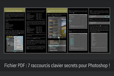 7 raccourcis clavier secrets pour Photoshop !