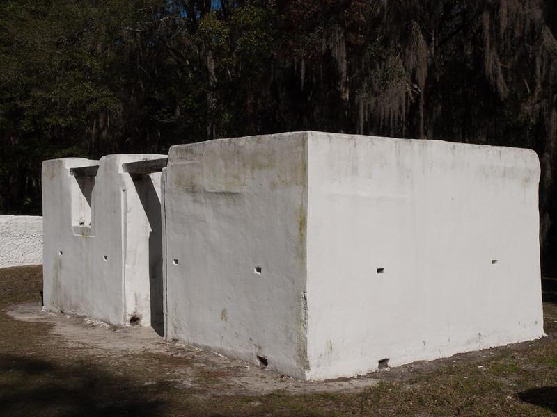 Kingsley Plantation slave quarters (reconstructed)