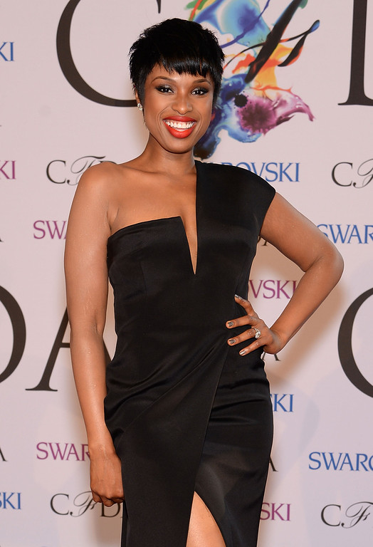 . Musician Jennifer Hudson attends the 2014 CFDA fashion awards at Alice Tully Hall, Lincoln Center on June 2, 2014 in New York City.  (Photo by Dimitrios Kambouris/Getty Images)