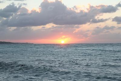Cable Beach, Nassau Bahamas - Sunset