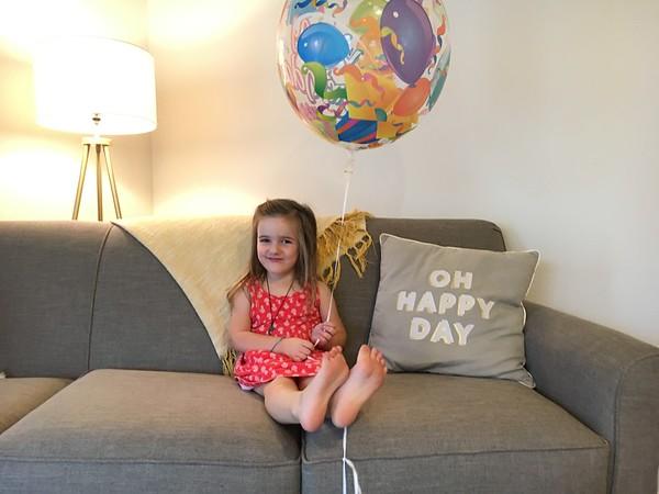 Alice's 4th Birthday
