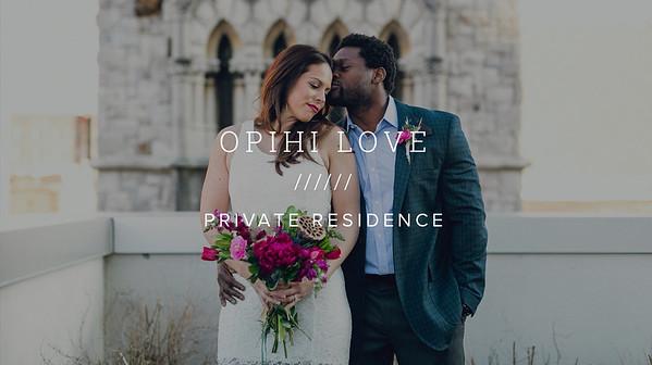 OPIHI LOVE ////// PRIVATE RESIDENCE