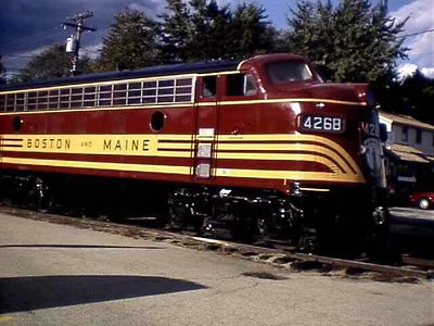 Boston and Maine Railroad