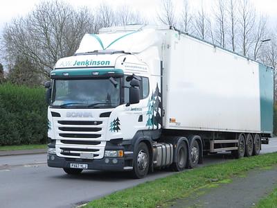 Trucks at Ternhill Shropshire Nov 20