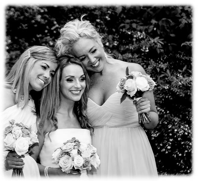 Bride & Bride's Maids