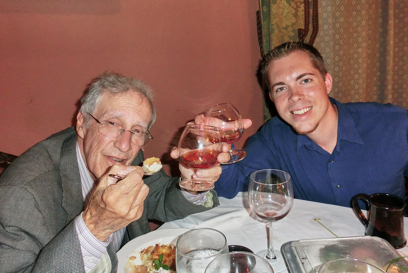 Dinner with Nick, Larry Lebin, & FL at the Herdic House, Williamsport PA. Oct 5 2012