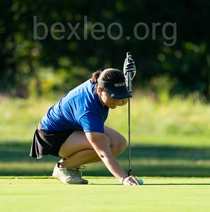 Varsity Girls Golf at Blacklick