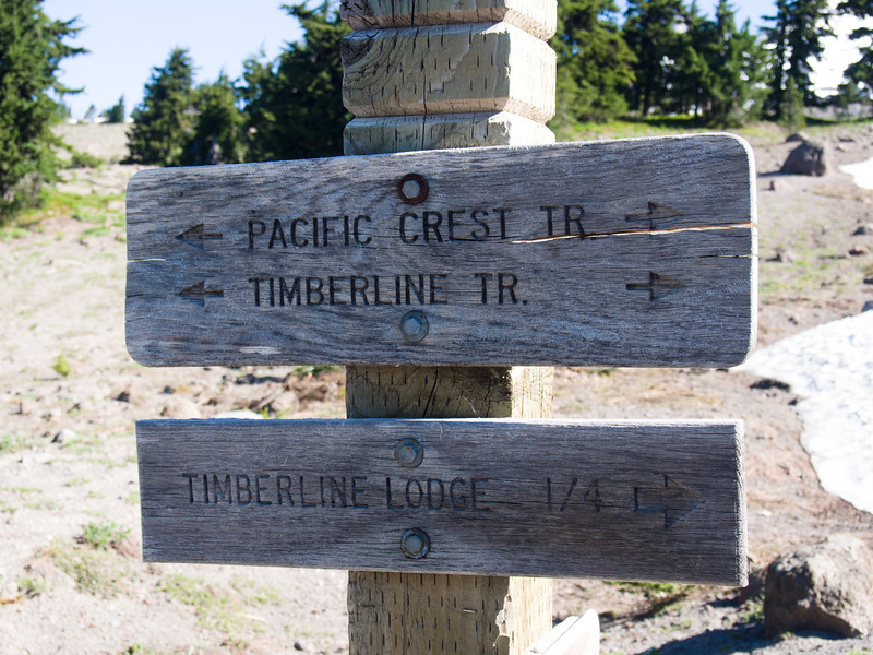 Day 6: We hiked to Zigzag Canyon from Timberline Lodge.
