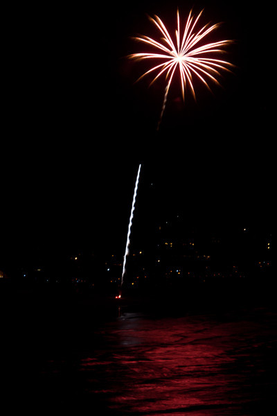 Manzanita Fireworks, 2008 and 2010