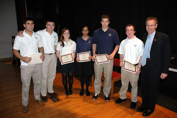2012 Sophomore Awards Ceremony