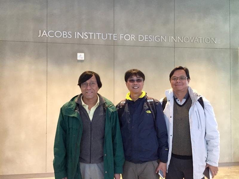 逢甲大學李秉乾校長與GIS中心周天穎主任與主要參與柏克萊大學Jacobs design Institute規劃的機械系Dennis K. Lieu教授合影.jpg