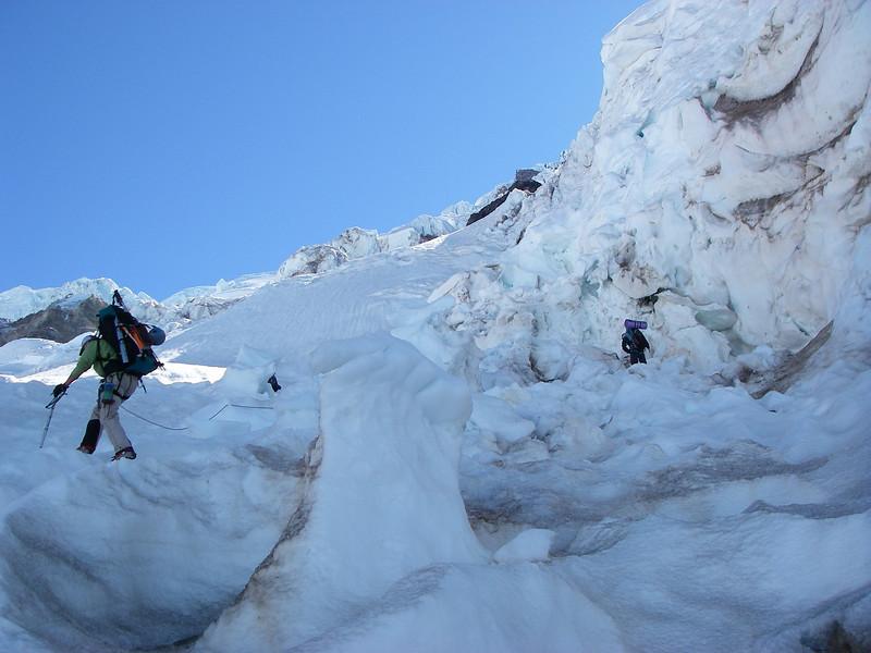 Tahoma Glacier crevasses 7